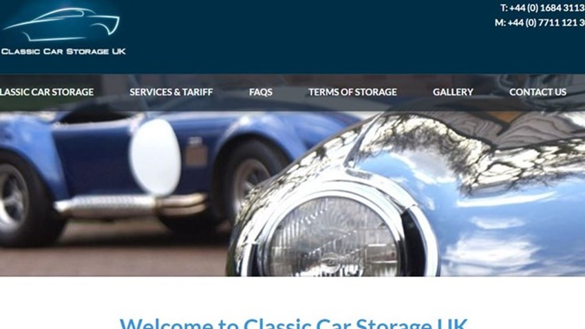 Classic Car Storage UK