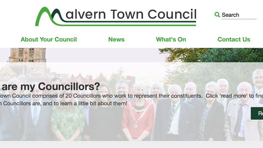 Malvern Town Council Launch New Online Information Portal